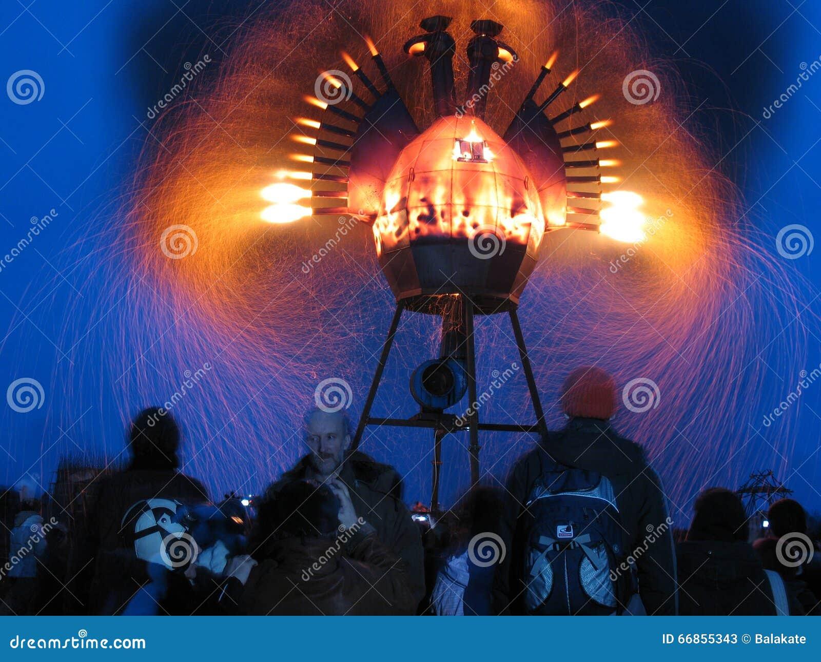 Metal Firebird no festival Archstoyanie 2008 Rússia