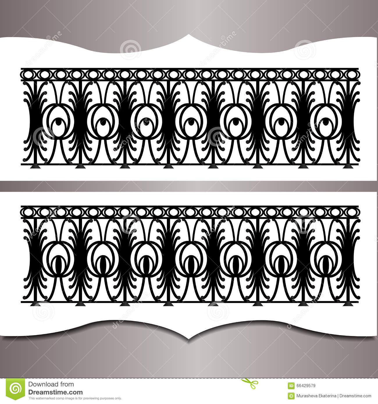 Metal forging stock vector image 66429579 for Exterior design elements