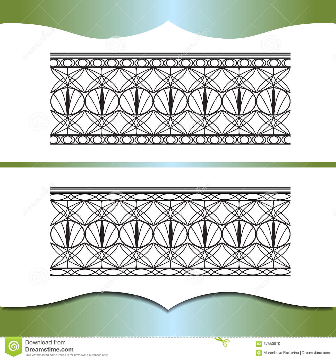 Metal forging stock vector image 67550870 for Exterior design elements
