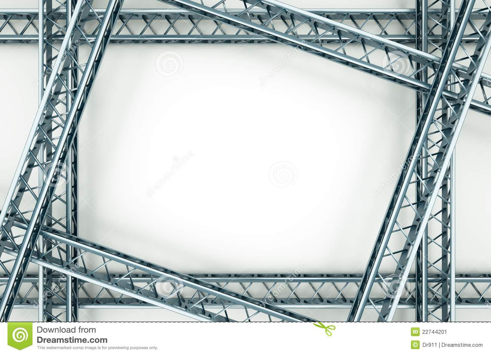 Metal Frame Stock Illustration Illustration Of Indoors