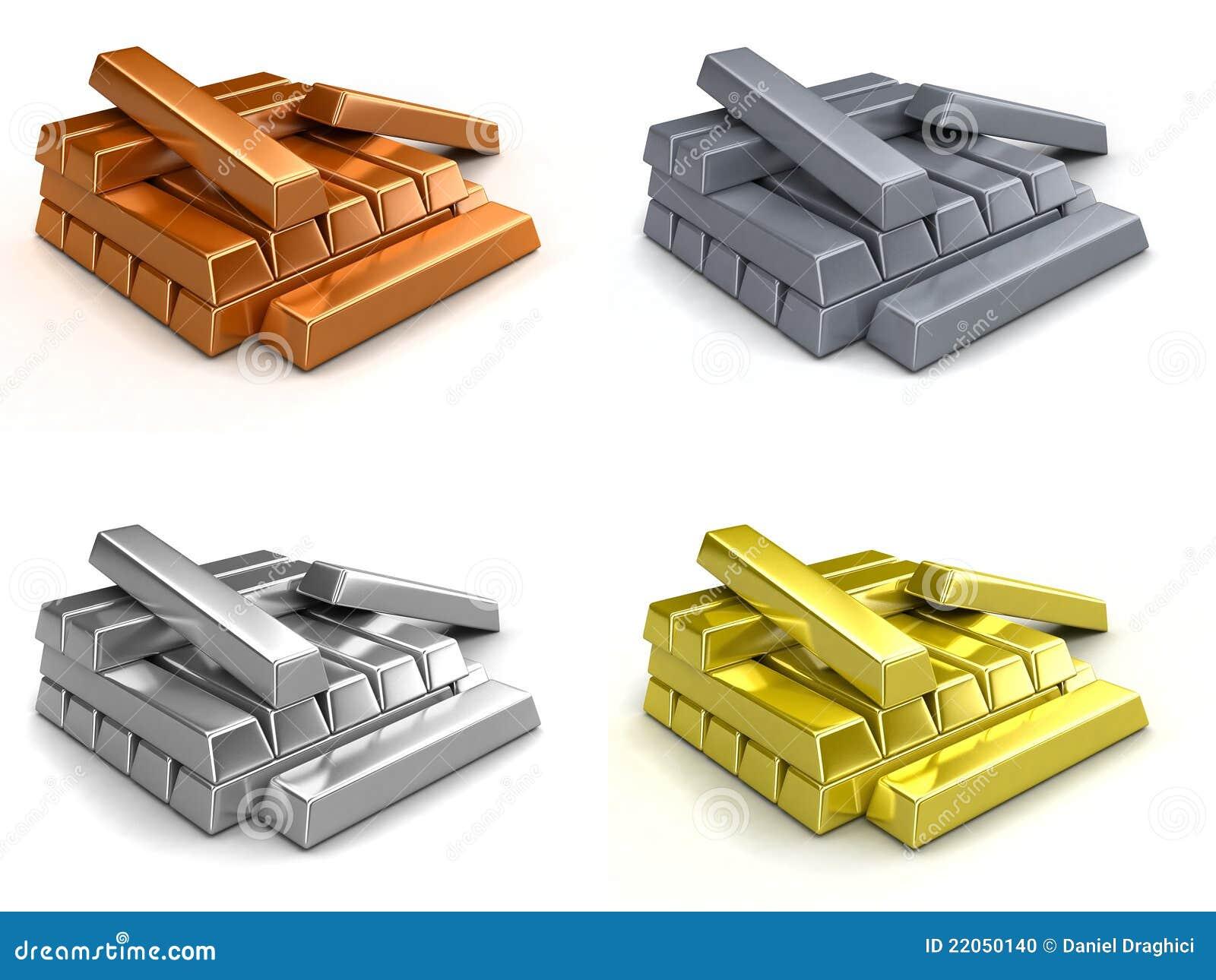 Metal ingots