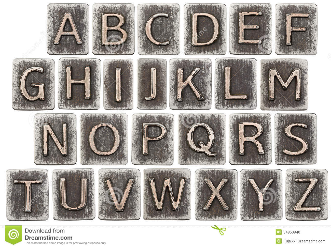 Metal Block Letters Awesome Metal Letters Stock Photoimage Of Iron Element Font  34850840 Review