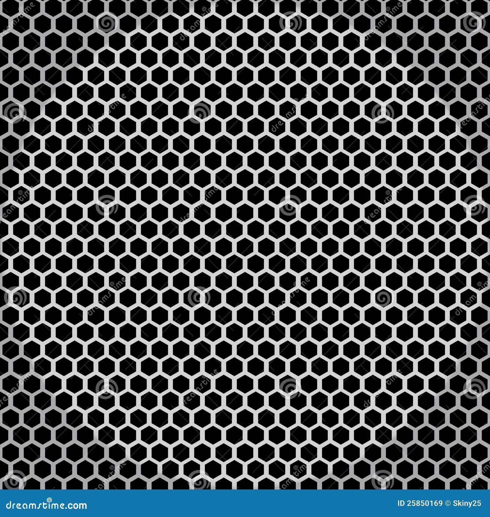 Metal Net Seamless Texture Stock Vector Illustration Of