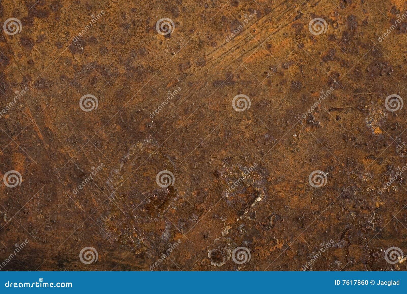Metal oxidado útil como fundos ou texturas