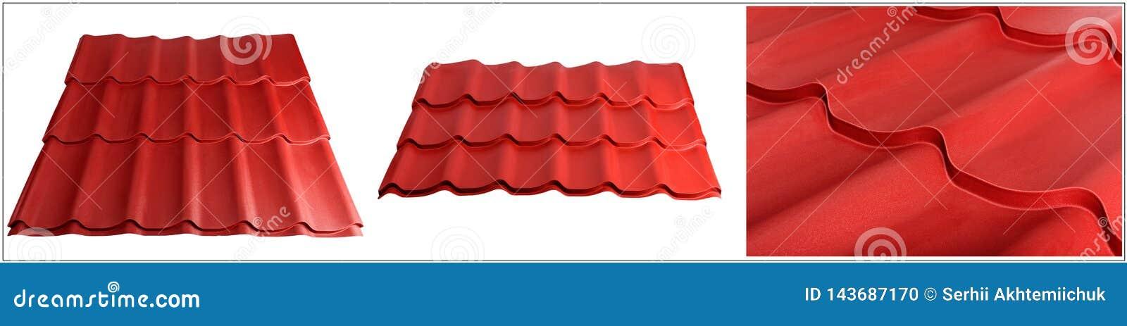 Metal płytka, nowożytny materiał dla dachu domy Set zrobi specyficznie dla specjalizować się stron internetowych