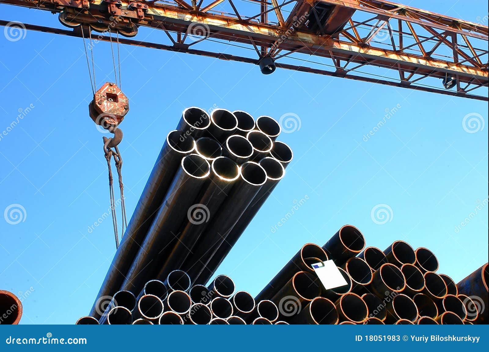 Metal pipes royalty free cartoon cartoondealer