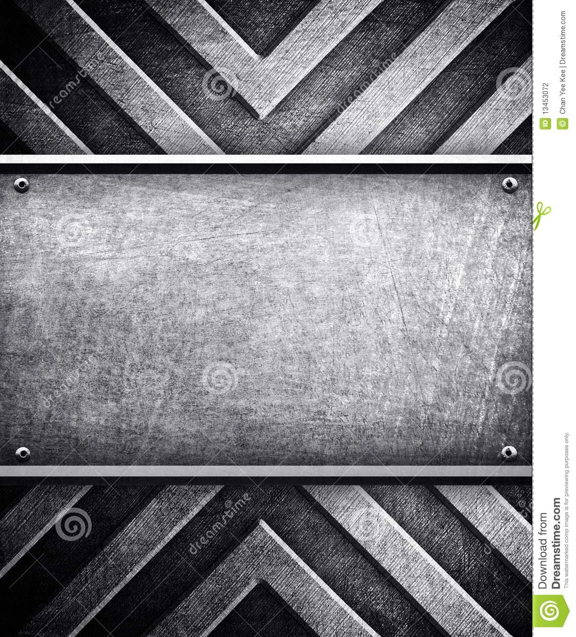 Metal plate background stock illustration. Illustration of ...