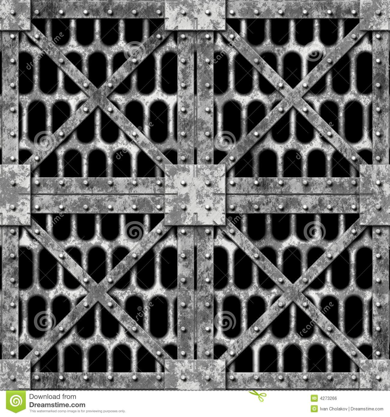 Metal plates stock illustration. Image of industrial, black - 4273266