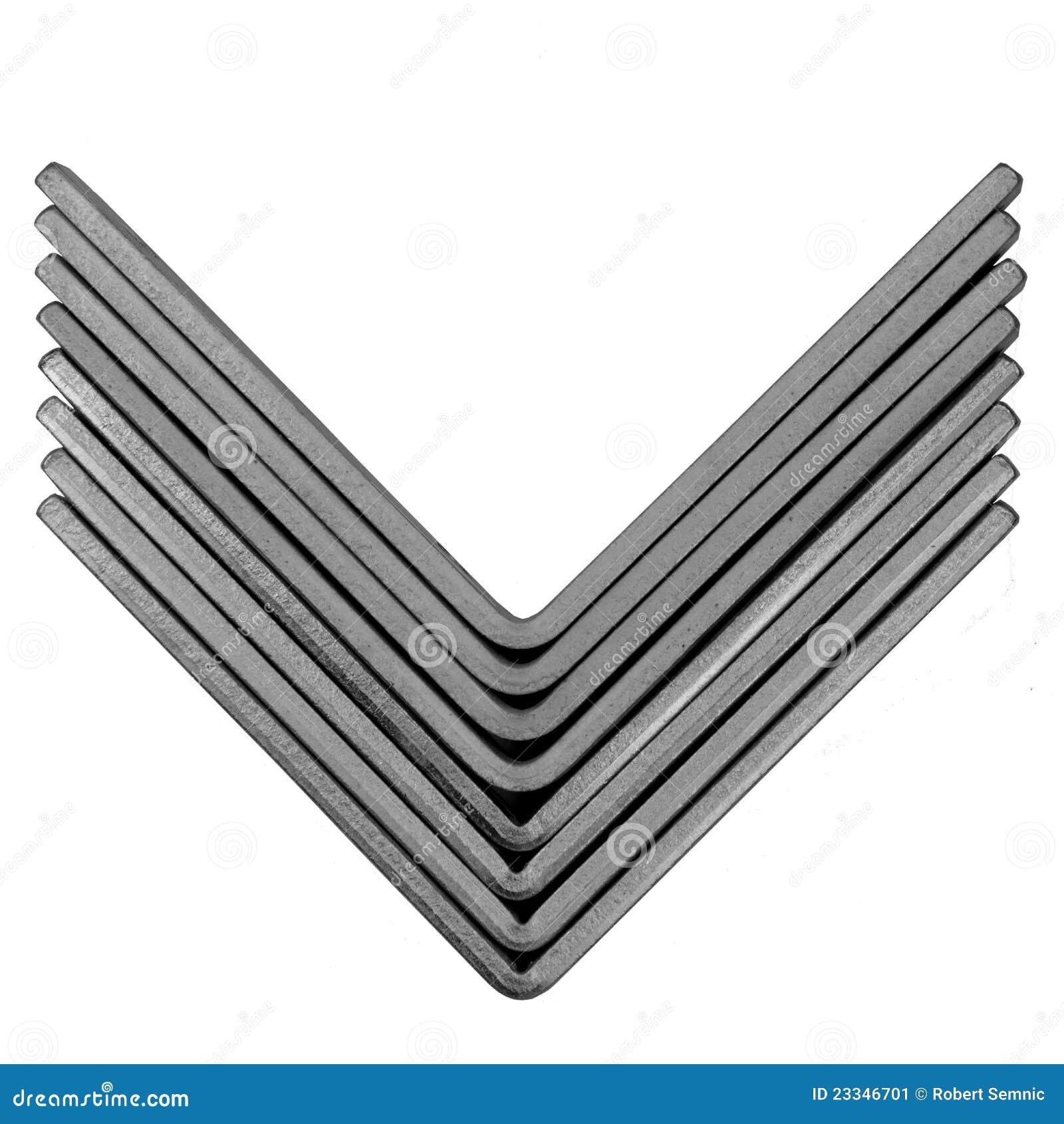 metal profile stock image image 23346701. Black Bedroom Furniture Sets. Home Design Ideas