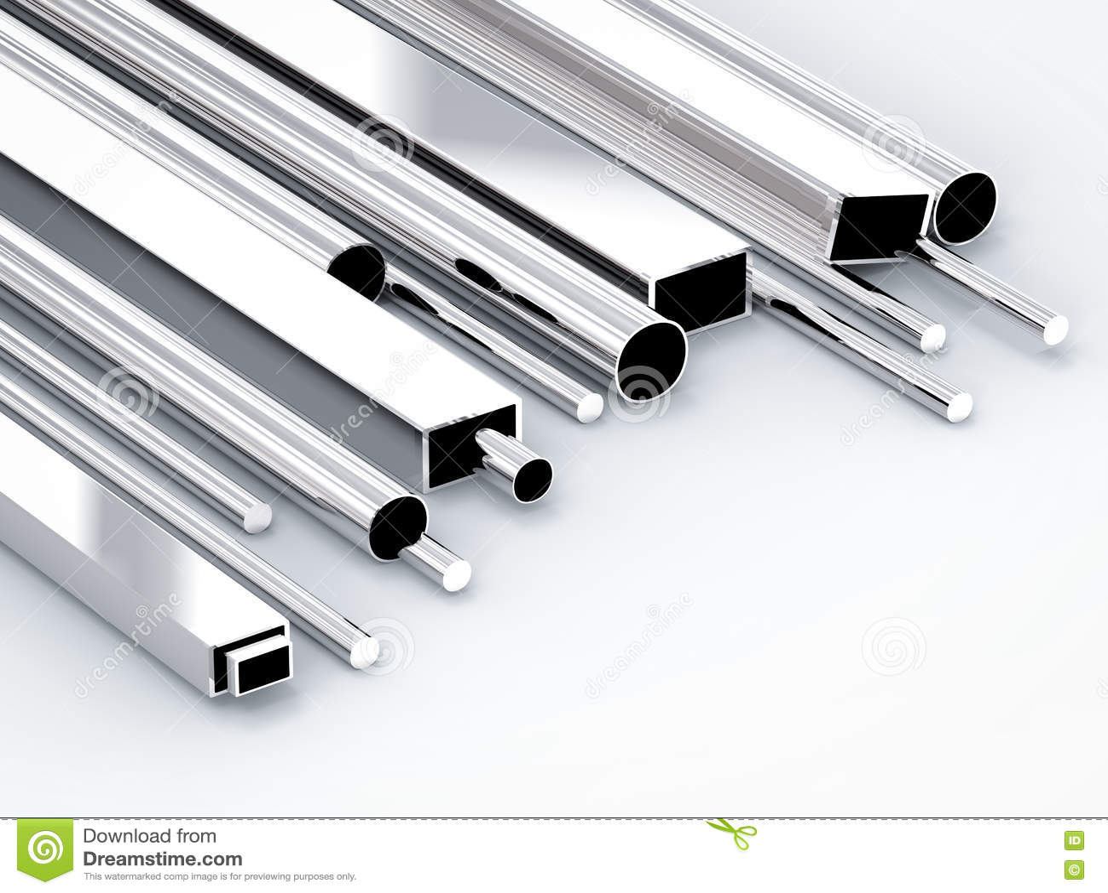 metal rohre stockbild. bild von anordnung, glänzend, gruppe - 77765257