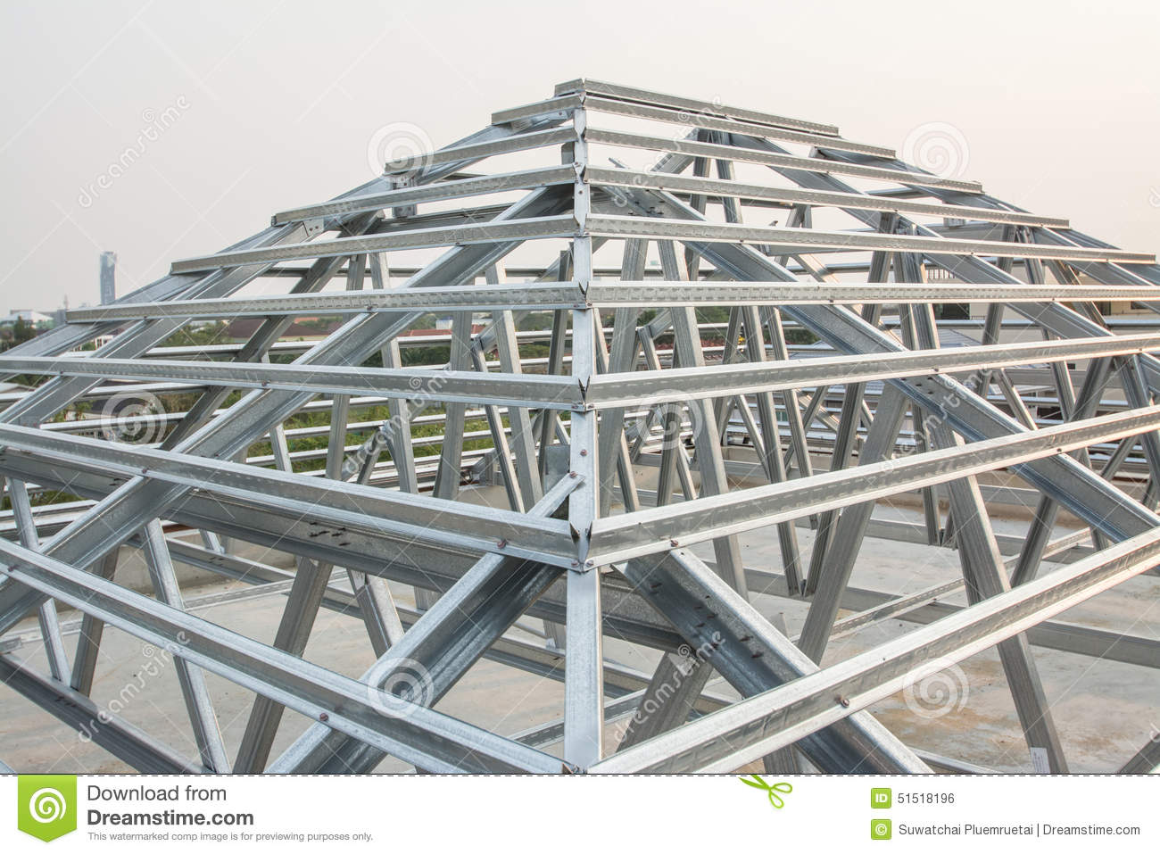 Roof structure 85