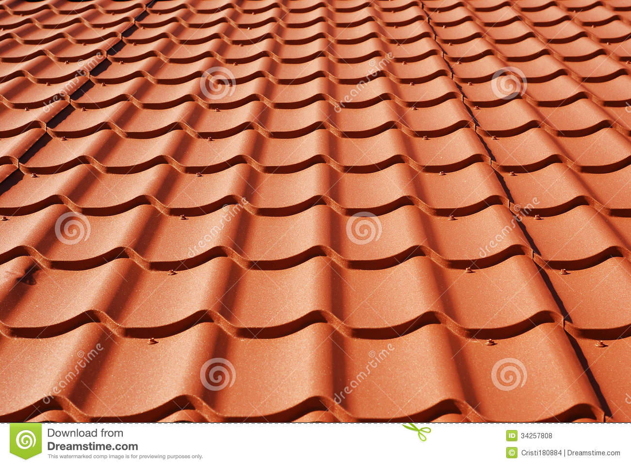 Metal Roof Royalty Free Stock Photos Image 34257808