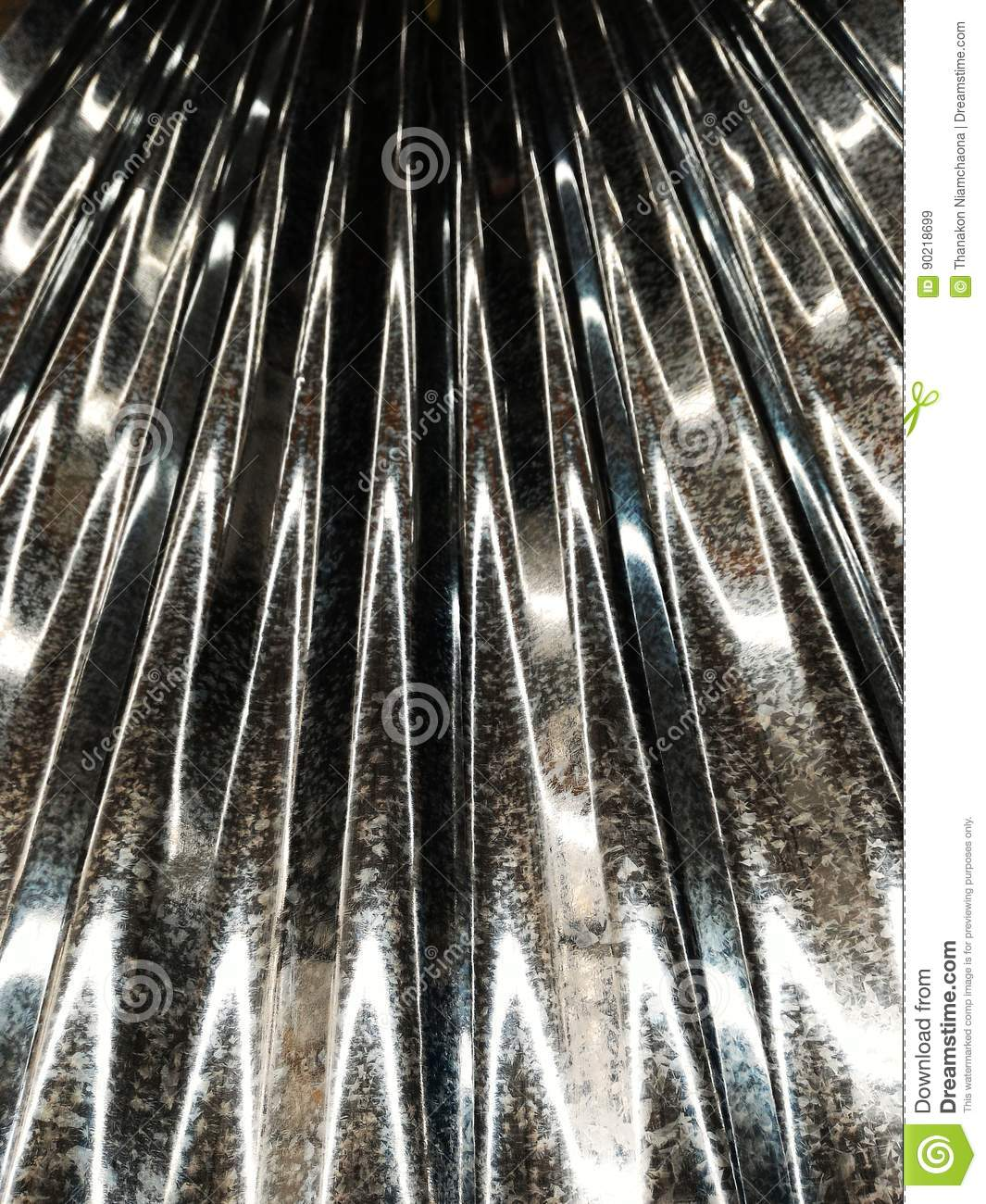 download metal roofing texture stock image image of plate panel 90218699 - Metal Roof Texture