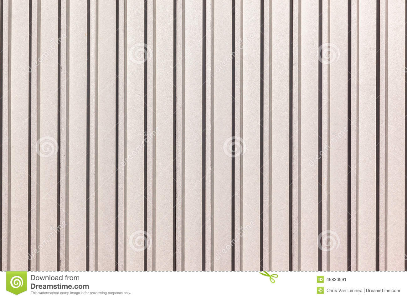 Metal Sheeting Industrial Product Stock Image Image