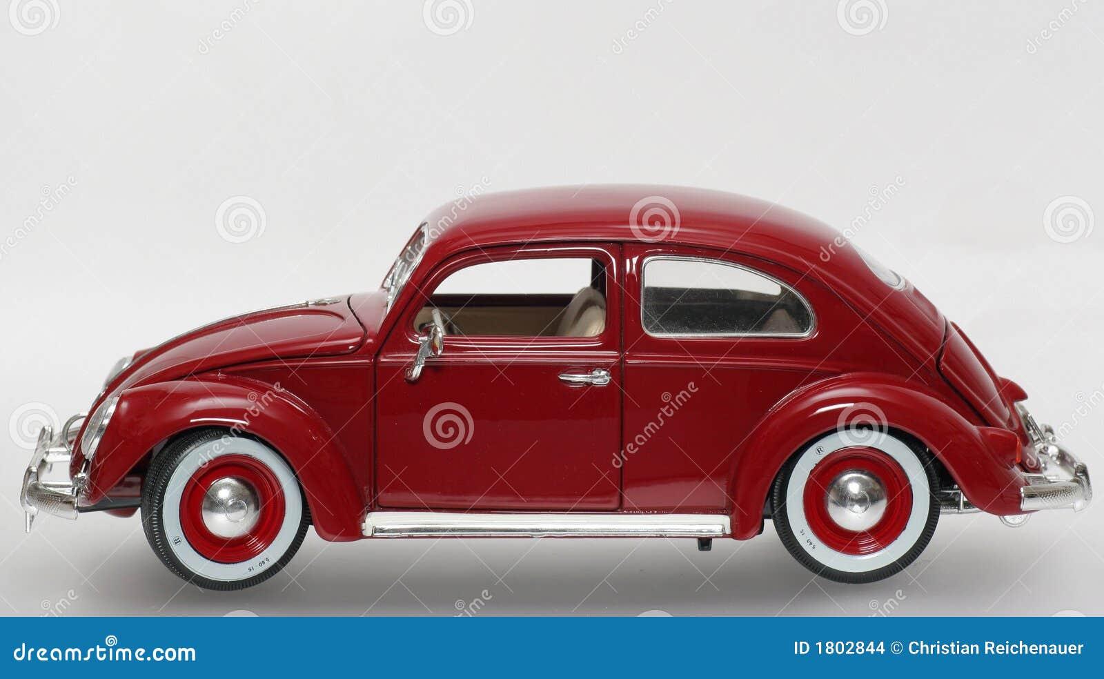 Del Metal 1955 La De Juguete Sideview Beatle Modelo Vw Escala LA4Rj35q
