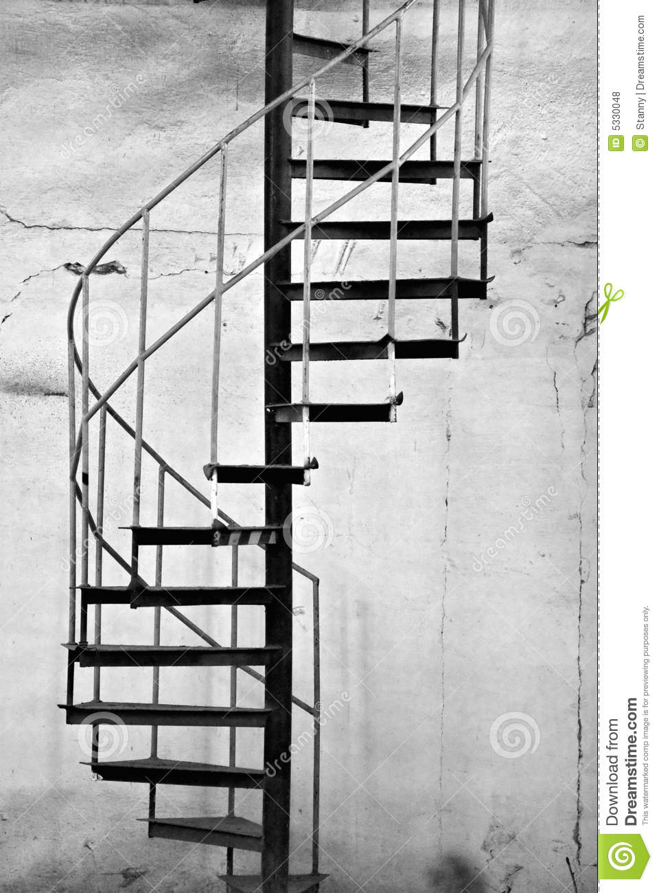 Metal spiral staircase royalty free stock photos image for Aluminum spiral staircase prices