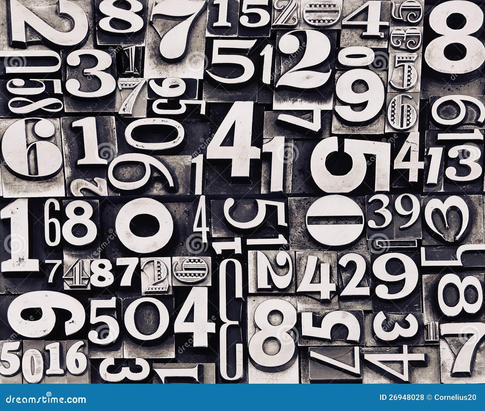 Metal stare liczby