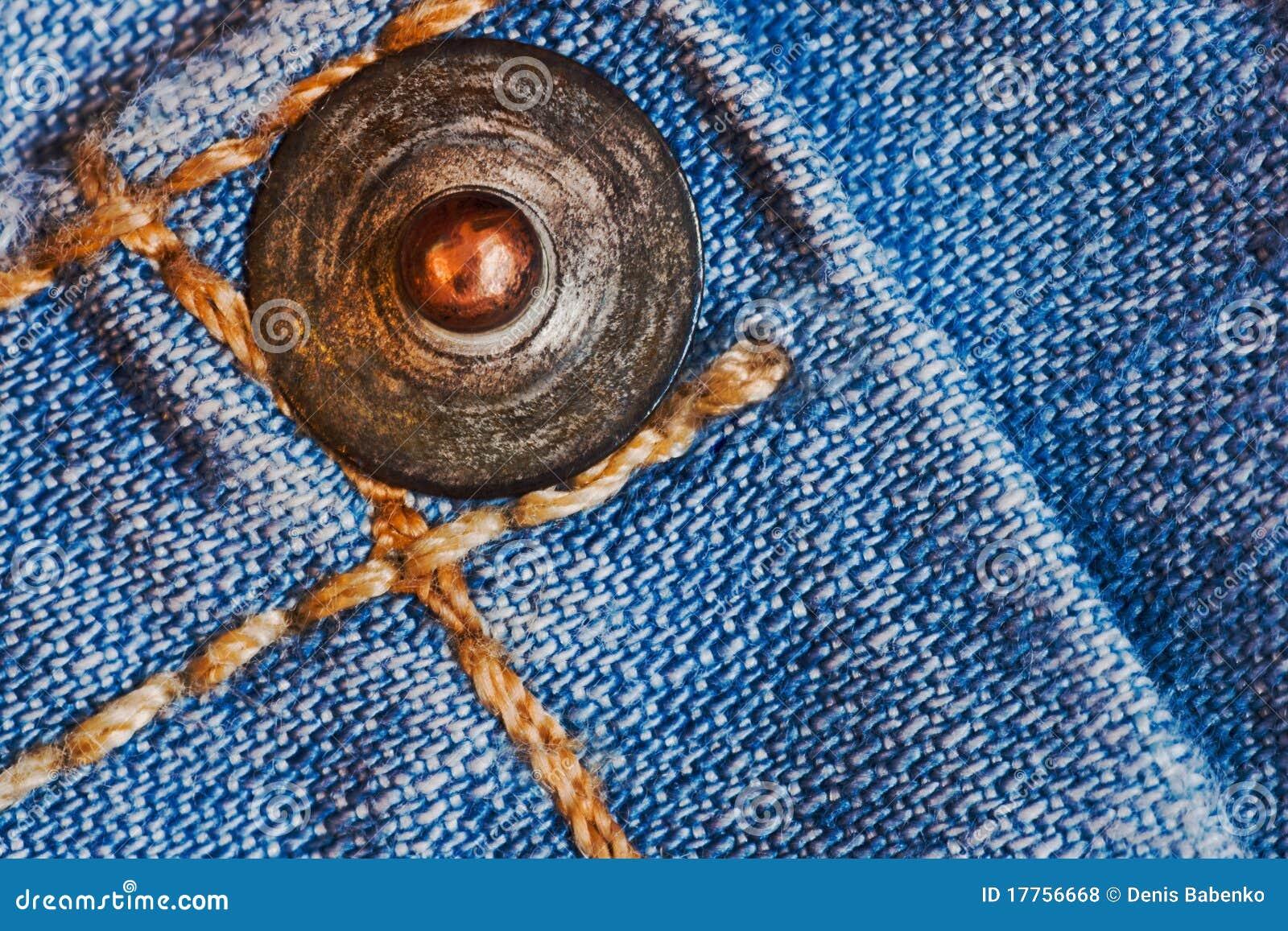 Как сделать кнопку к джинсам