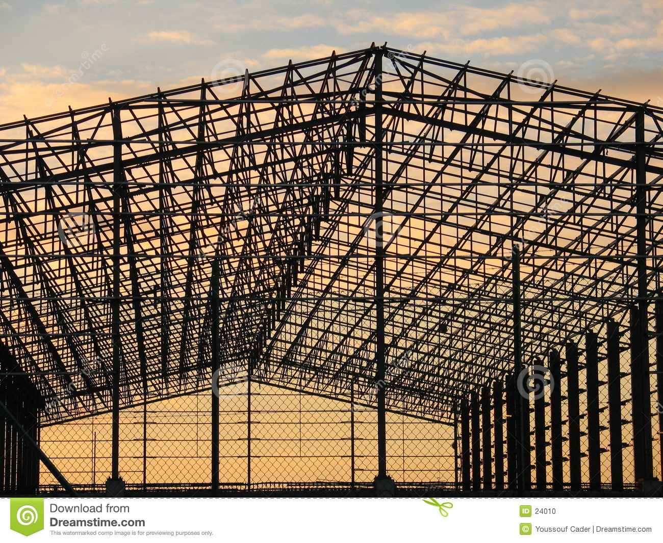 Metal Structure Stock Photo Image 24010