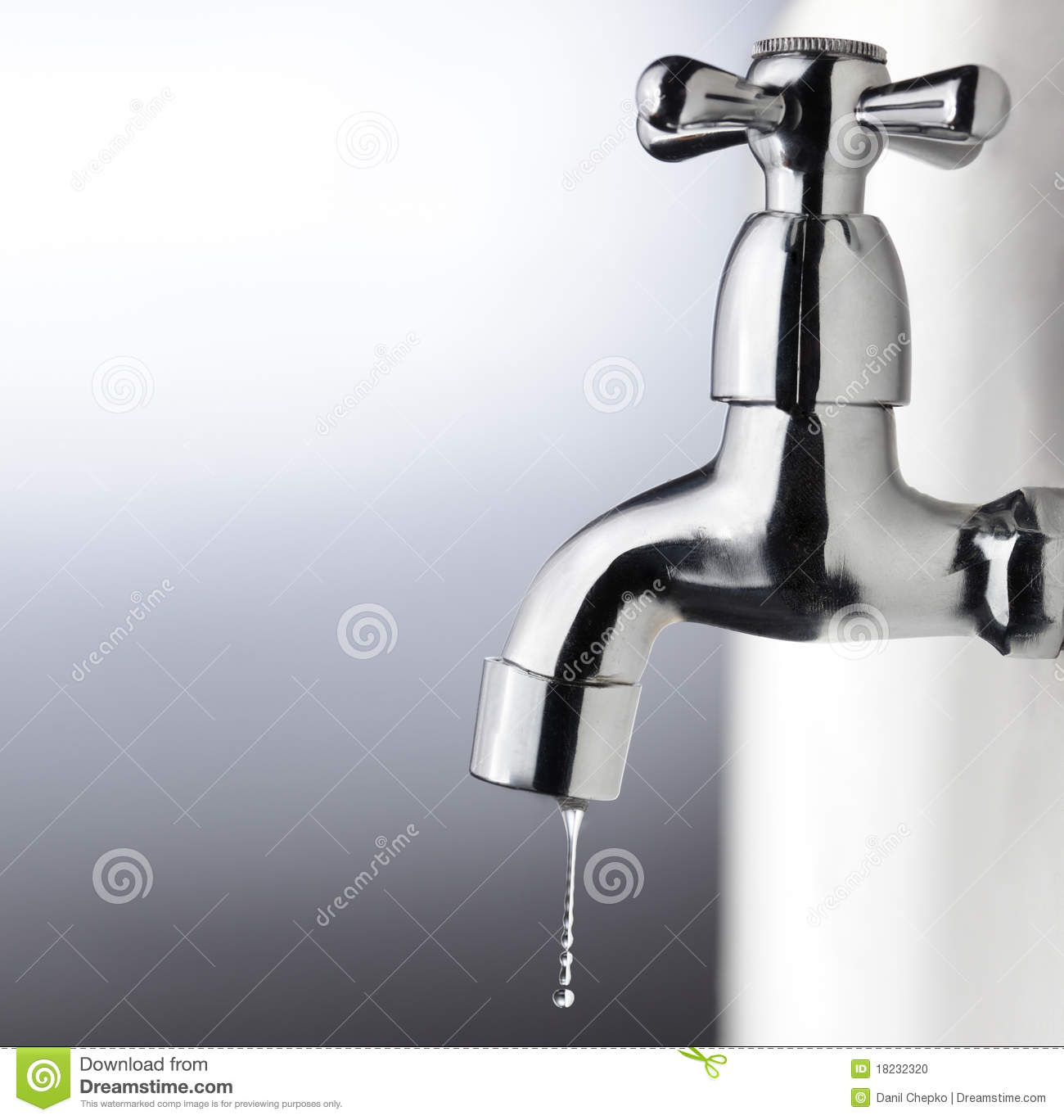 Metal Tap Stock Photo Image Of Backdrop Healthy Drops