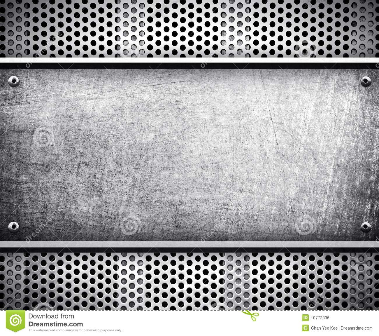 metal template background stock illustration  illustration