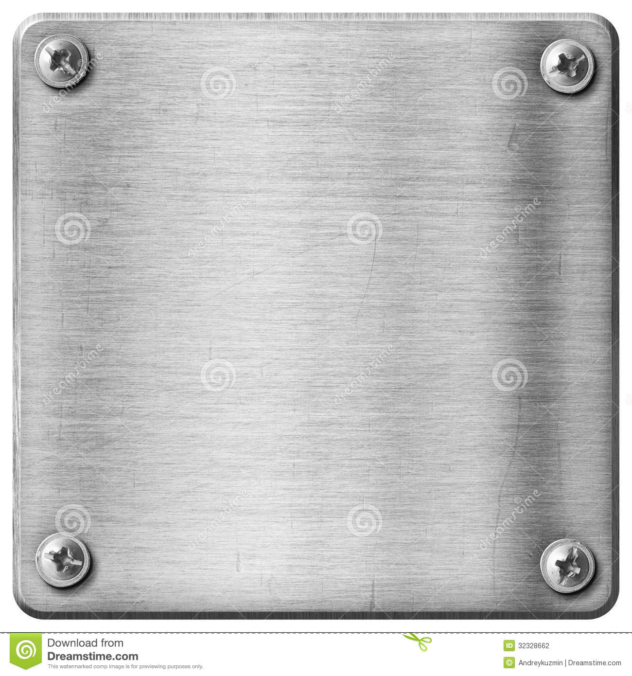 Metal Texture Plate Background Stock Photography Image