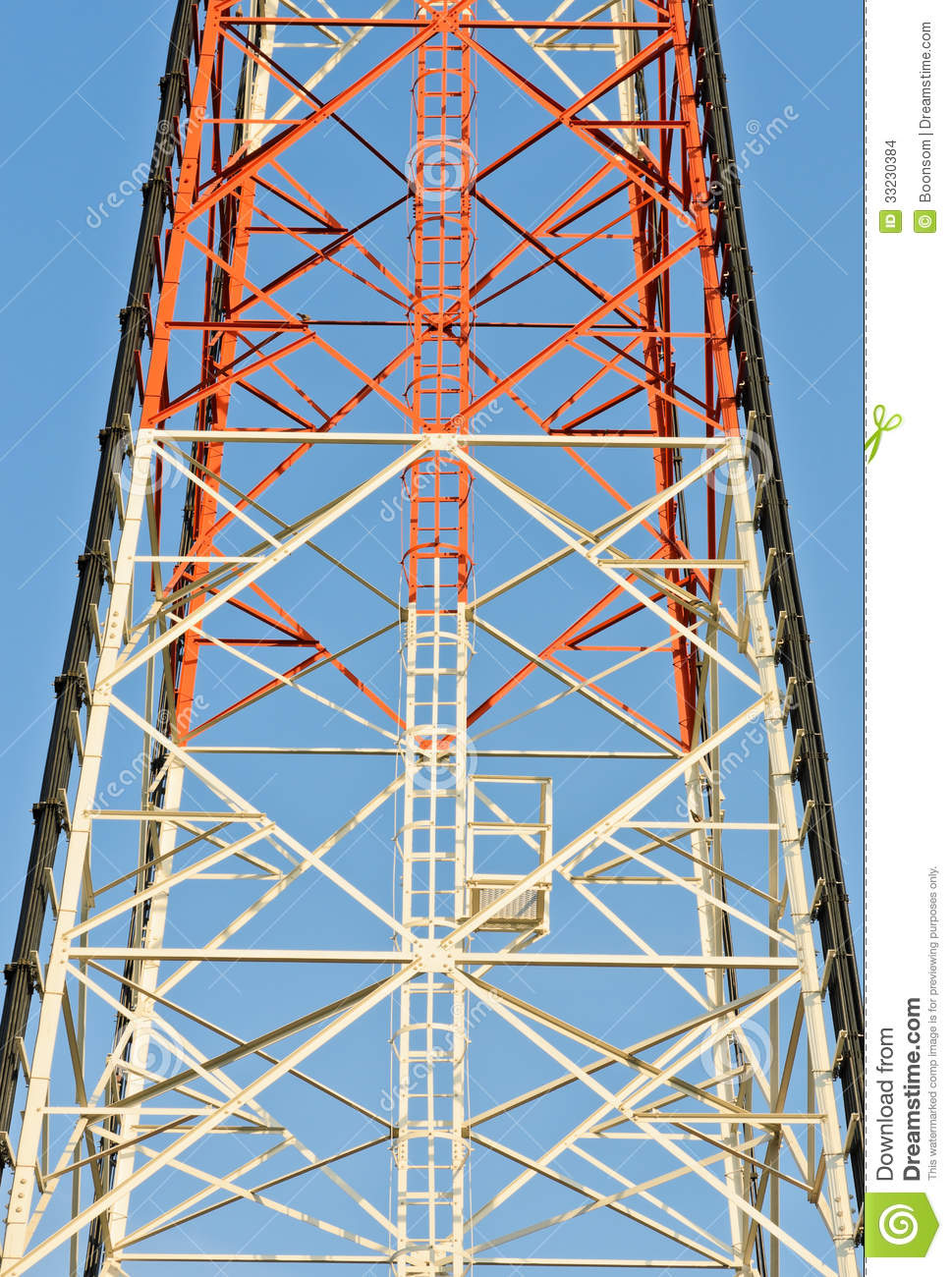 Steel Frame Towers : Metal tower frame stock images image