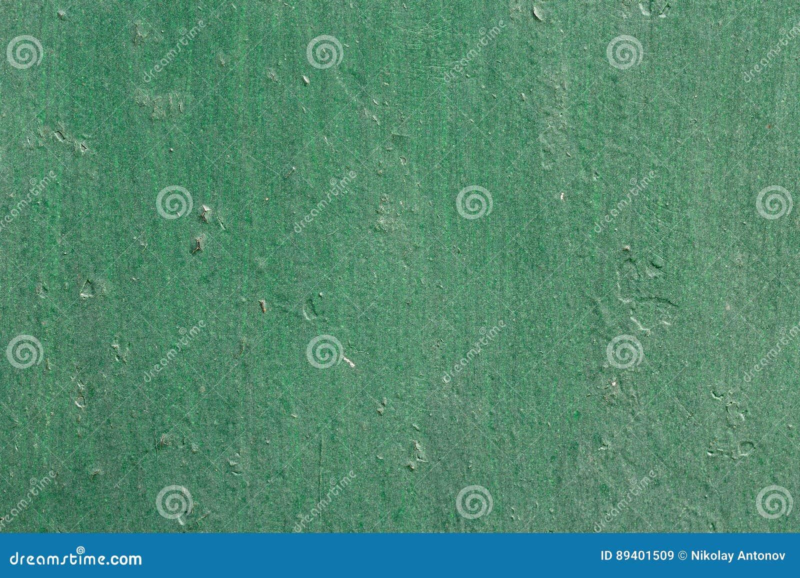 Metal verde fundo corroído da textura
