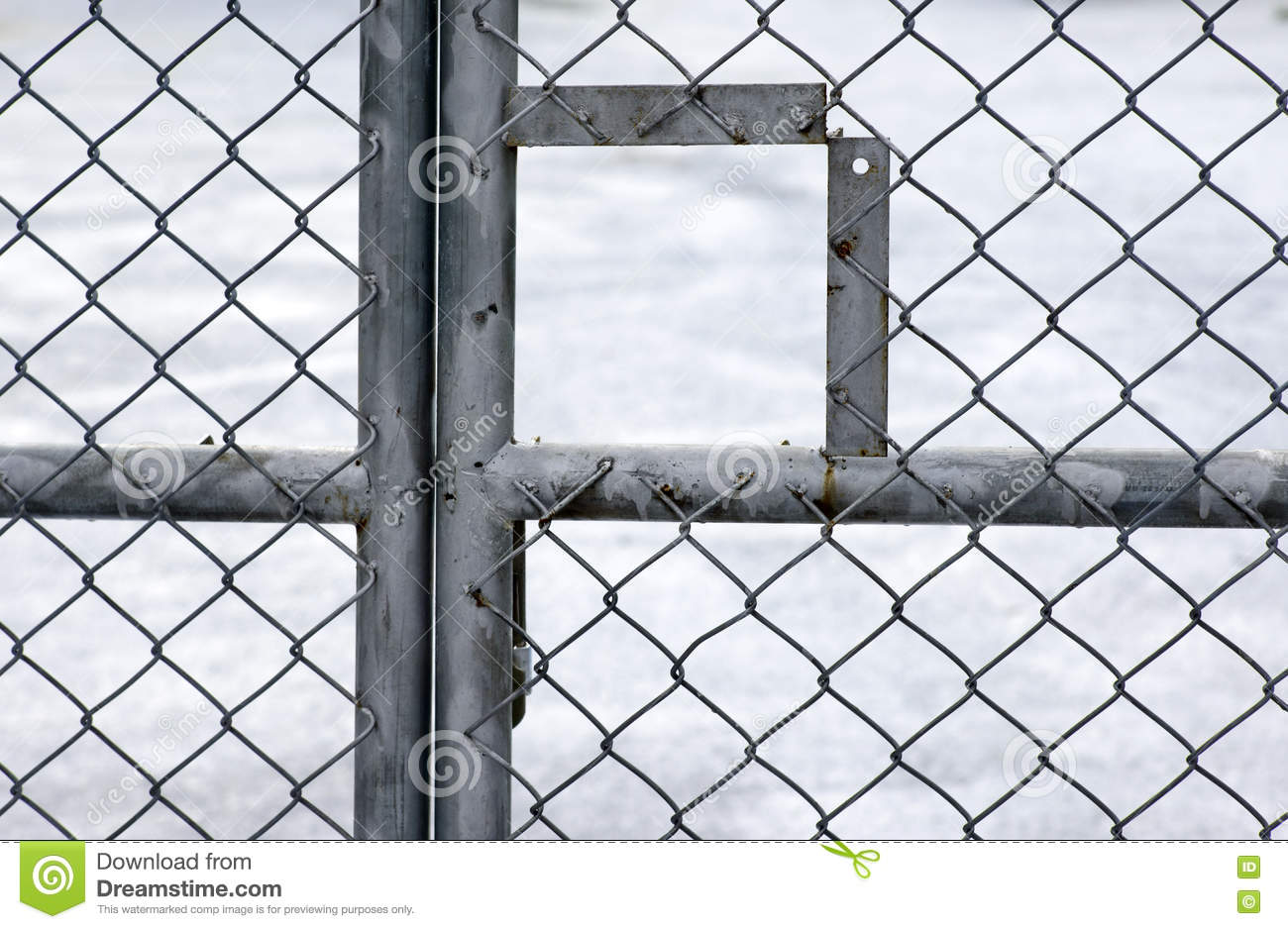 Metal wire fence stock photo. Image of material, closeup - 76353706