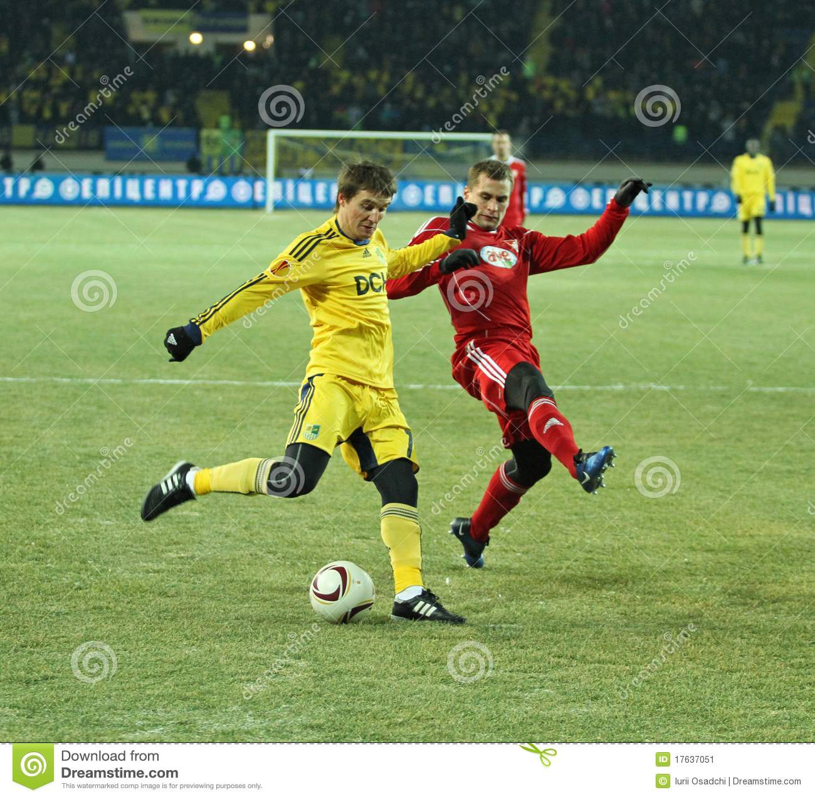 Debrecen Vs Liverpool Uefa Champions League Match: Debreceni UEFA Football Match Editorial Photo