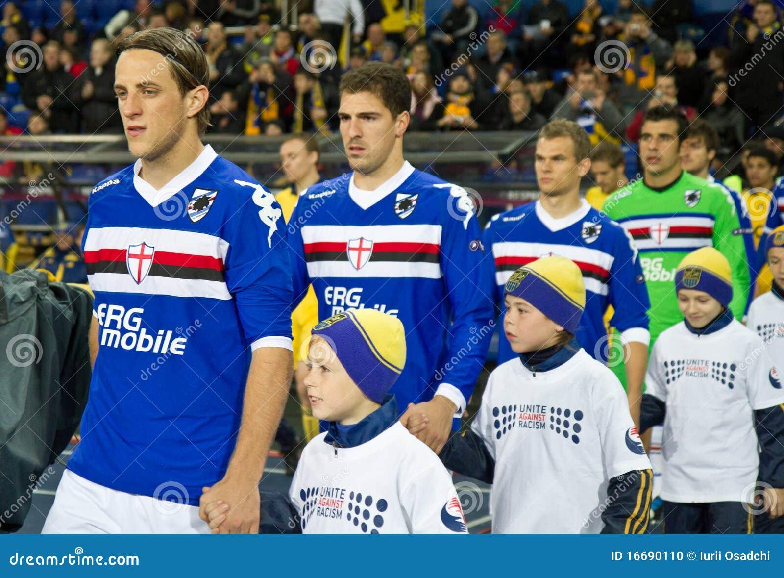 Metalist Kharkiv gegen Sampdoria Genua