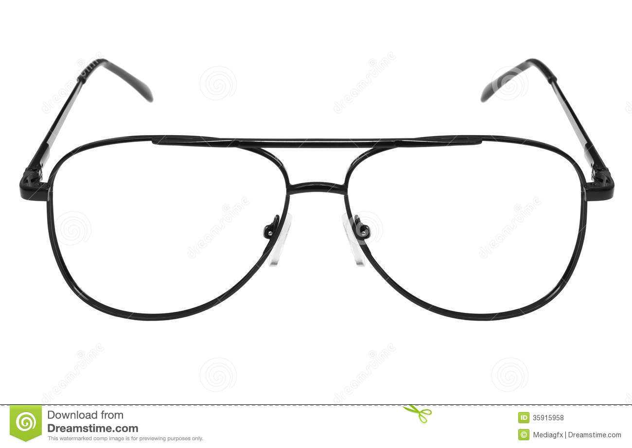 Metall frame for glasses stock photo. Image of classic - 35915958