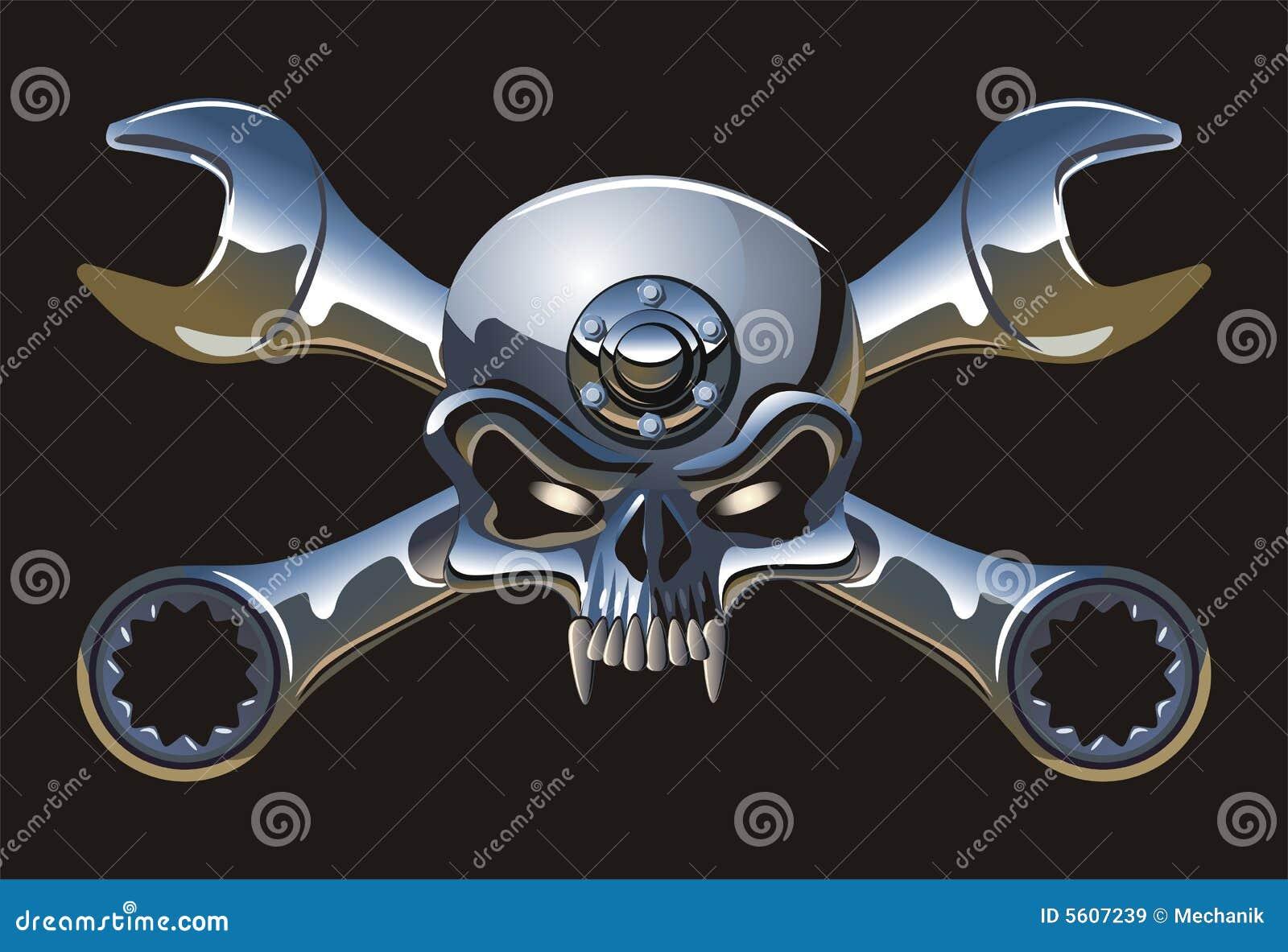 Metall Rogelio alegre del vector