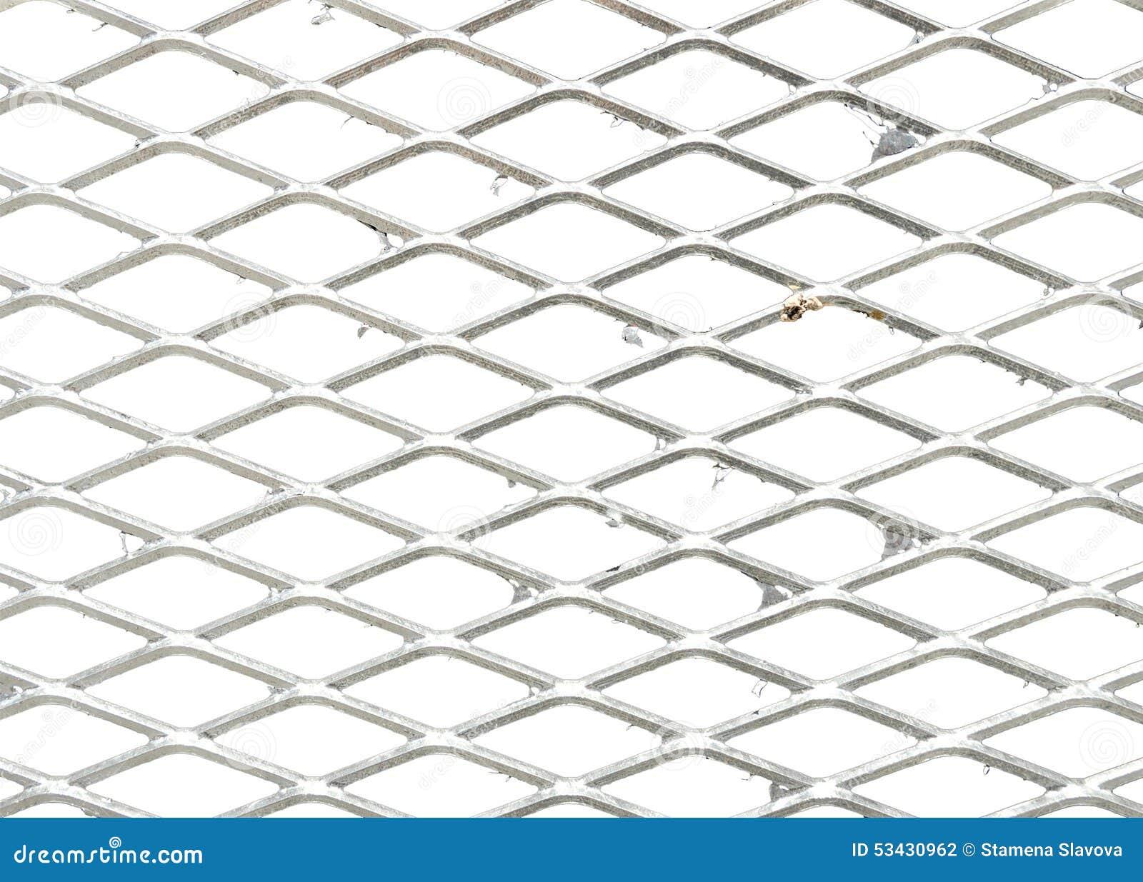 Metallgitter Stockfoto Bild Von Verteidigung Grau
