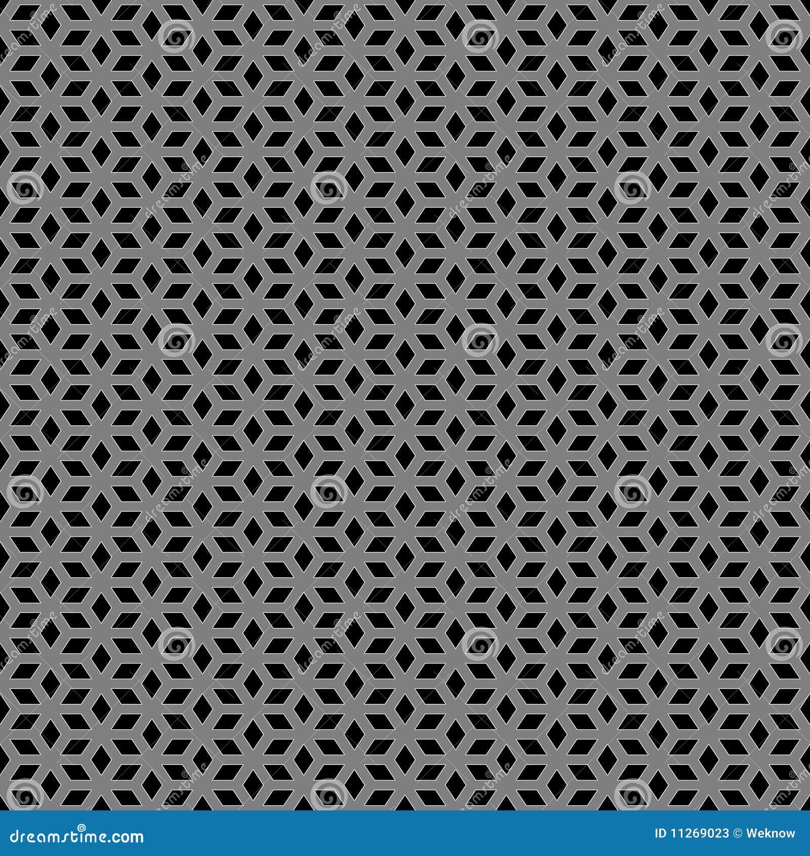 Metallic Escher Pattern Stock Illustration Image Of