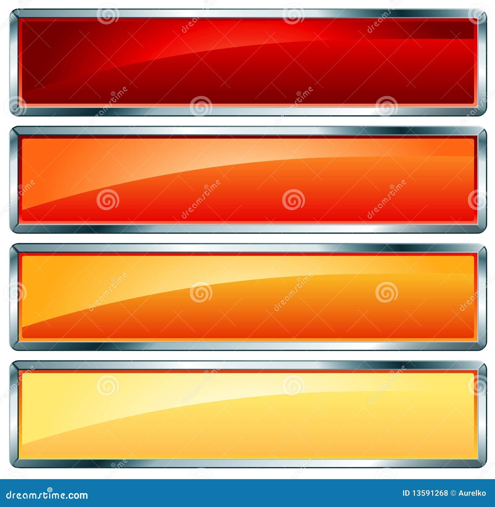 Metallic frame hot