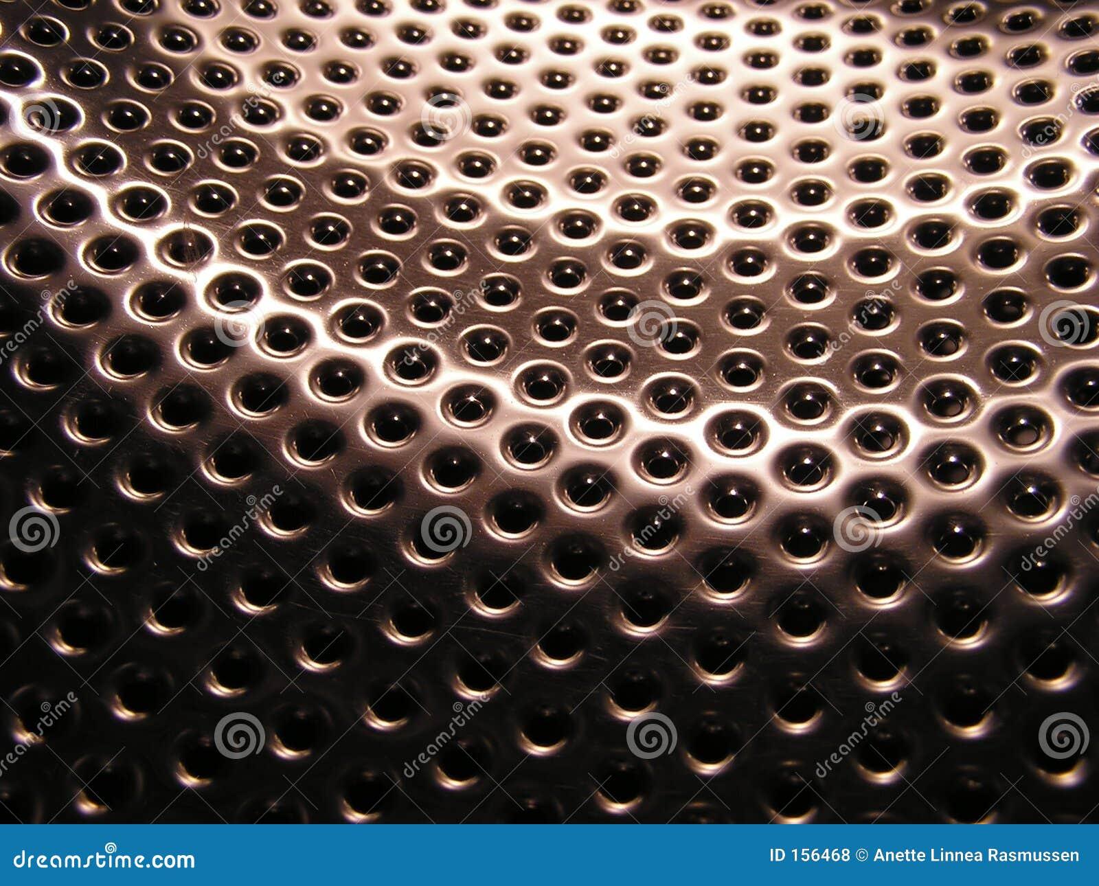 Metallic holes