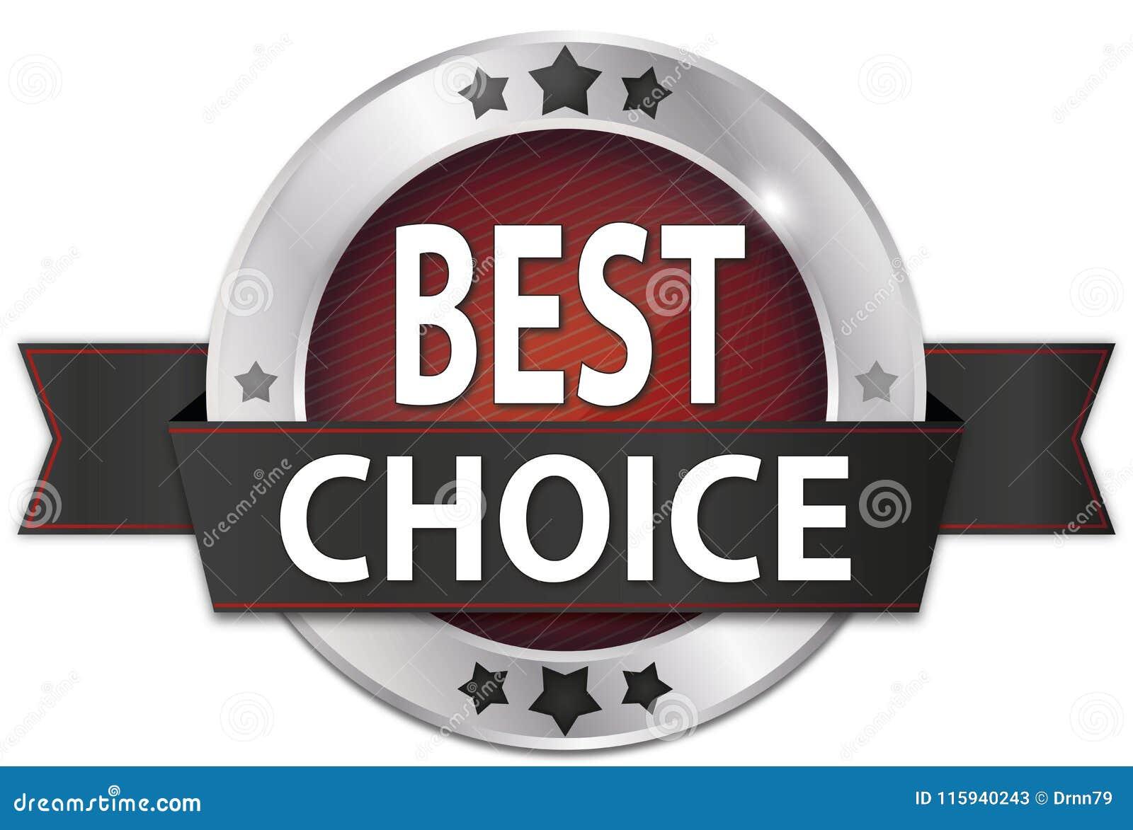 Best Choice Silver Metallic Round Seal Badge Stock Illustration ... c98abd737