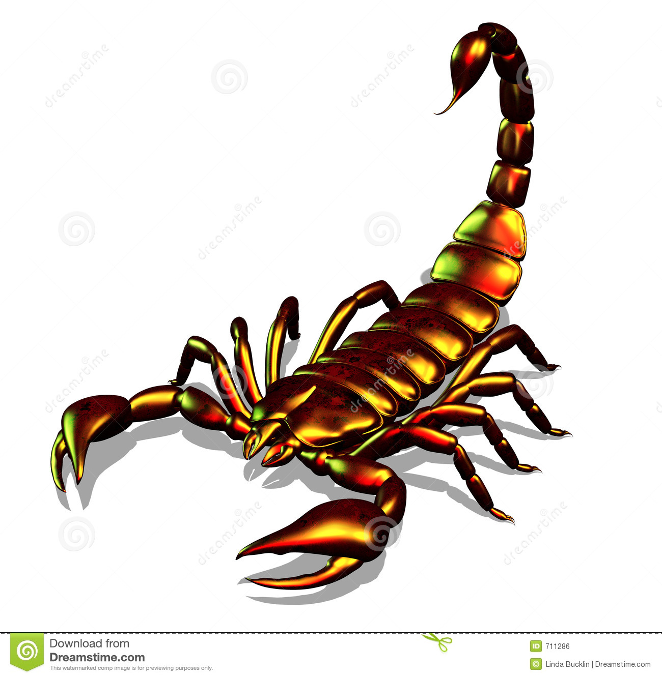 Clip Art Scorpion Clip Art scorpion stock illustrations 2989 metallic royalty free image