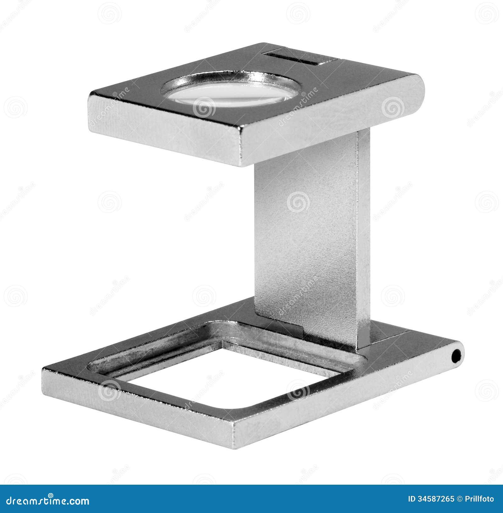 Metalliskt förstoringsglas