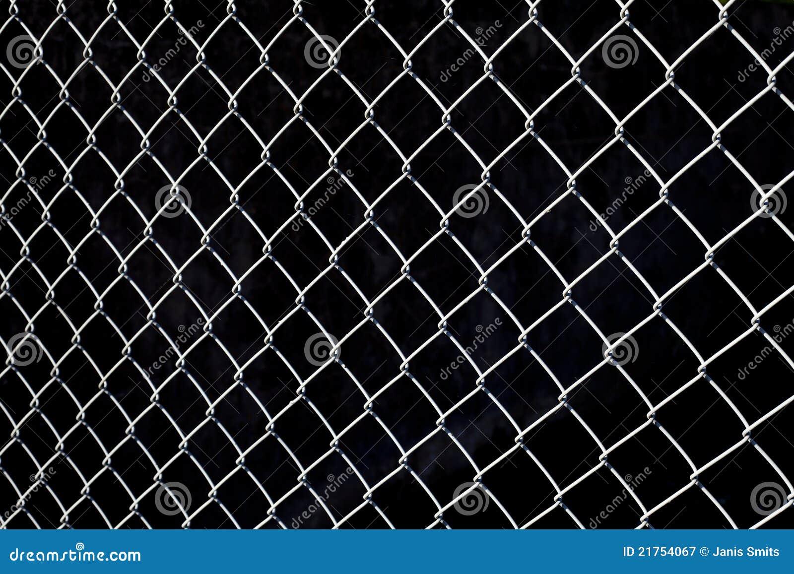 Metalliskt staket royaltyfri fotografi   bild: 21754067