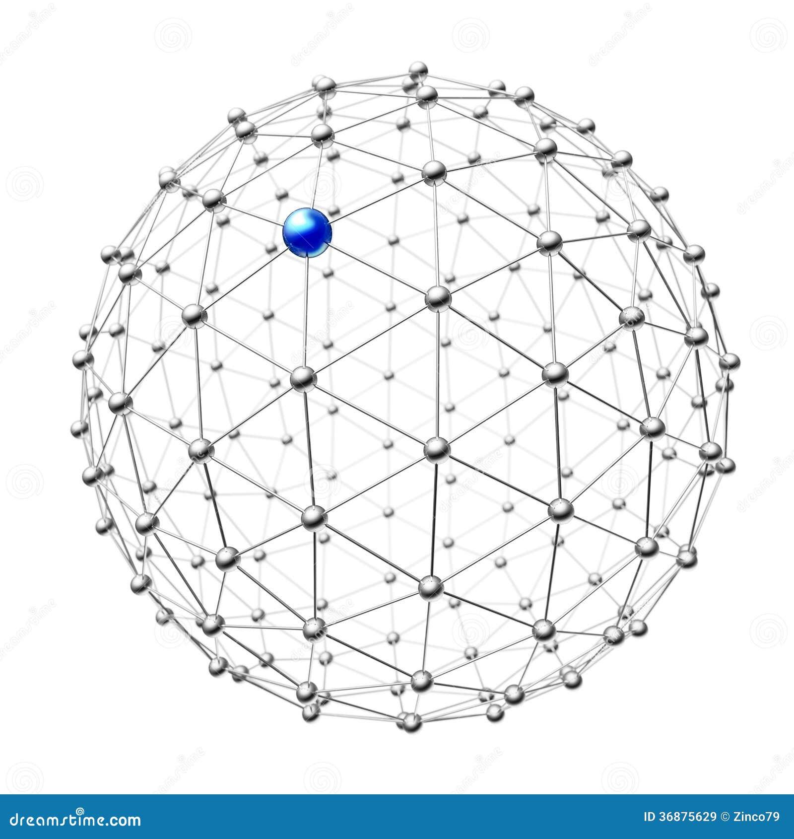 Download Metallo della sfera illustrazione di stock. Illustrazione di gruppo - 36875629