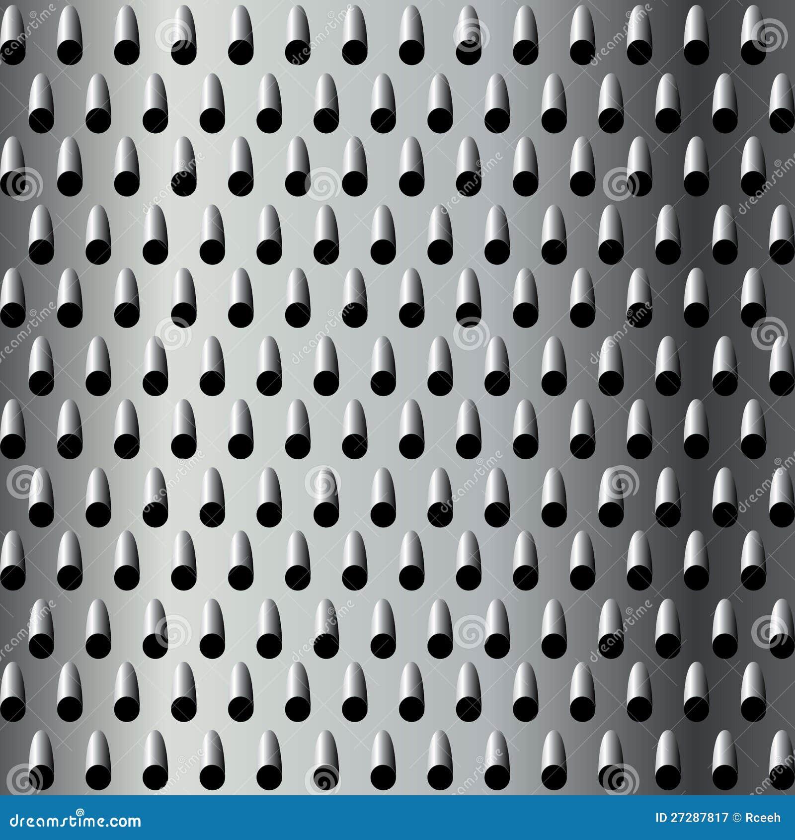 Metallrivjärntextur