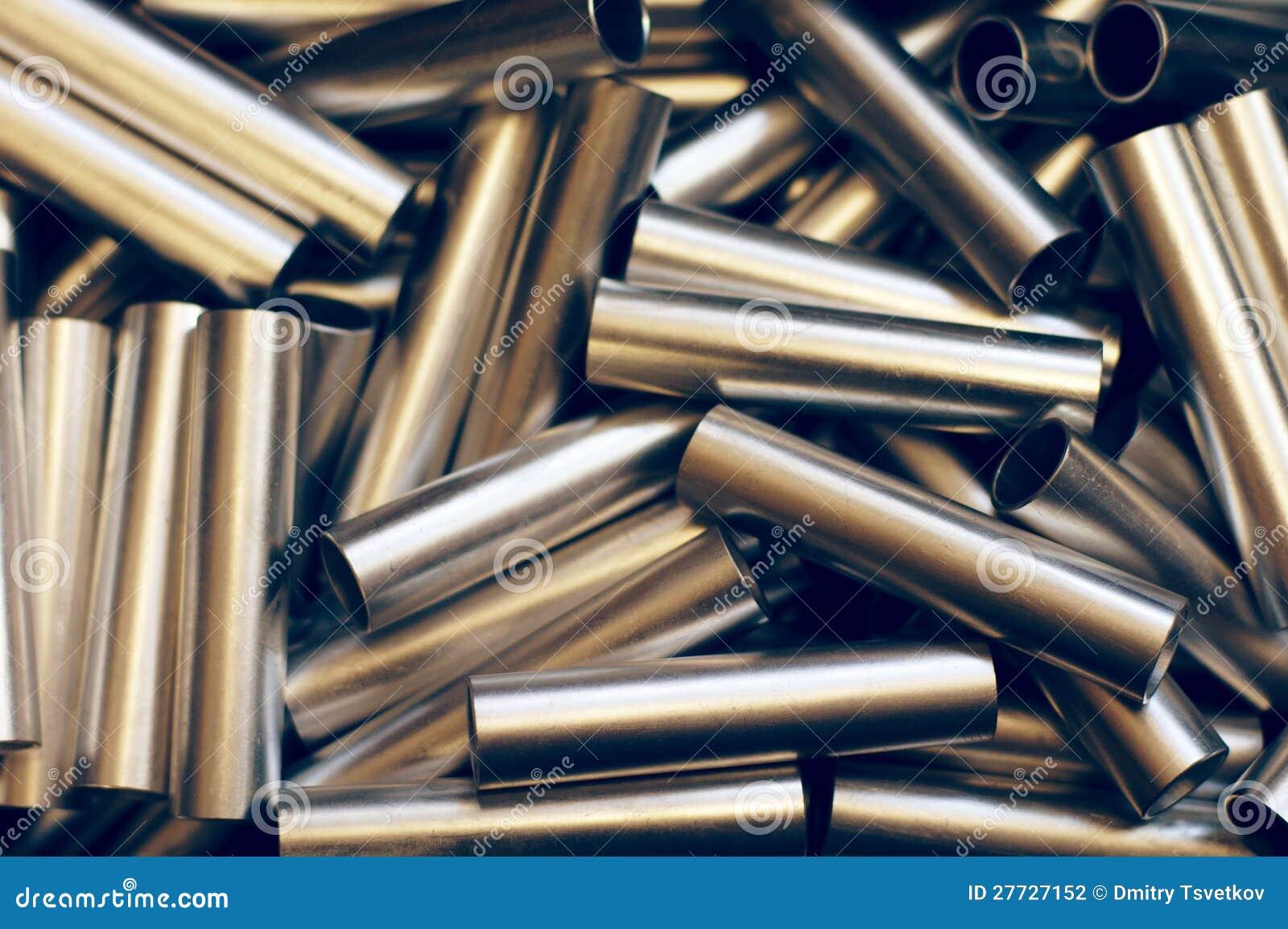 Metallrohrhintergrund