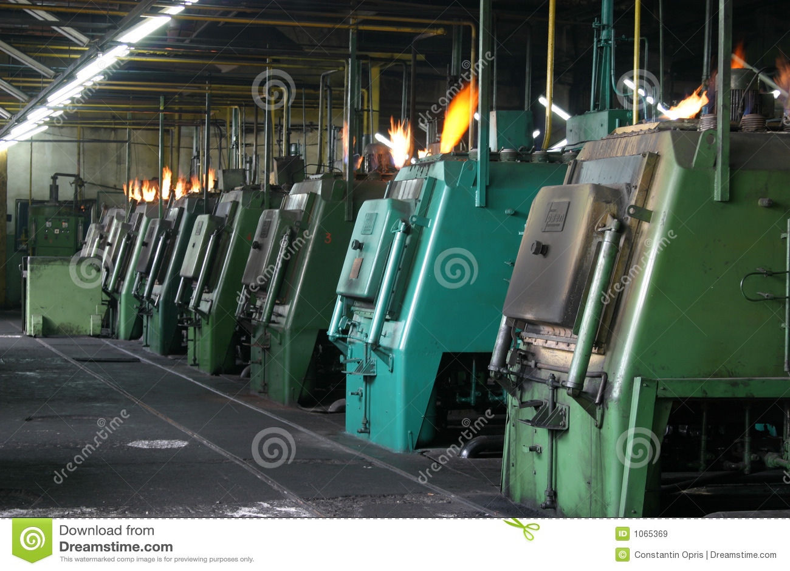 Metallurgic industry