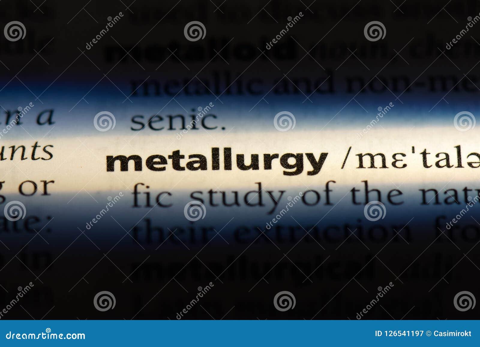 Metallurgie