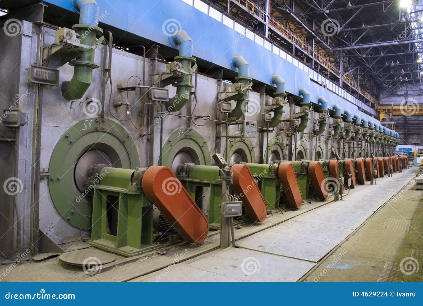 Metallurgie, installatie interne mening