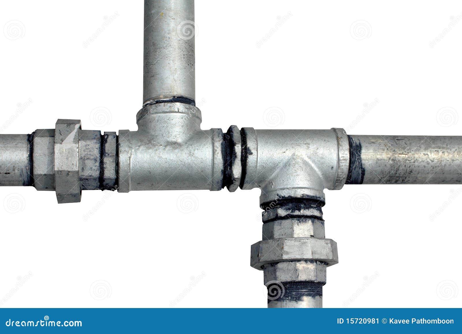 metallwasserrohre auf einem weiß stockbild - bild von auszug, hahn