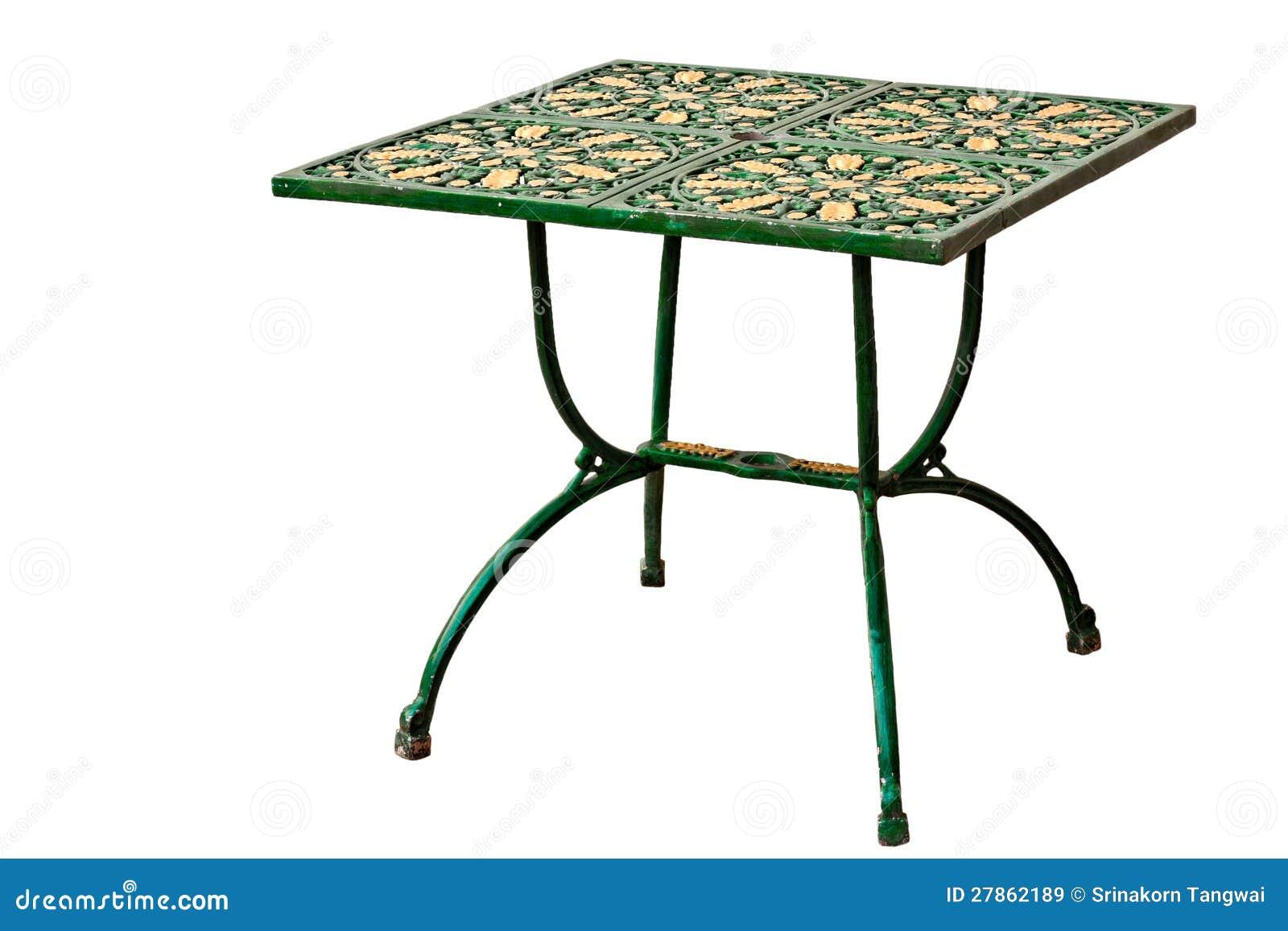 Metalu klasyczny stół