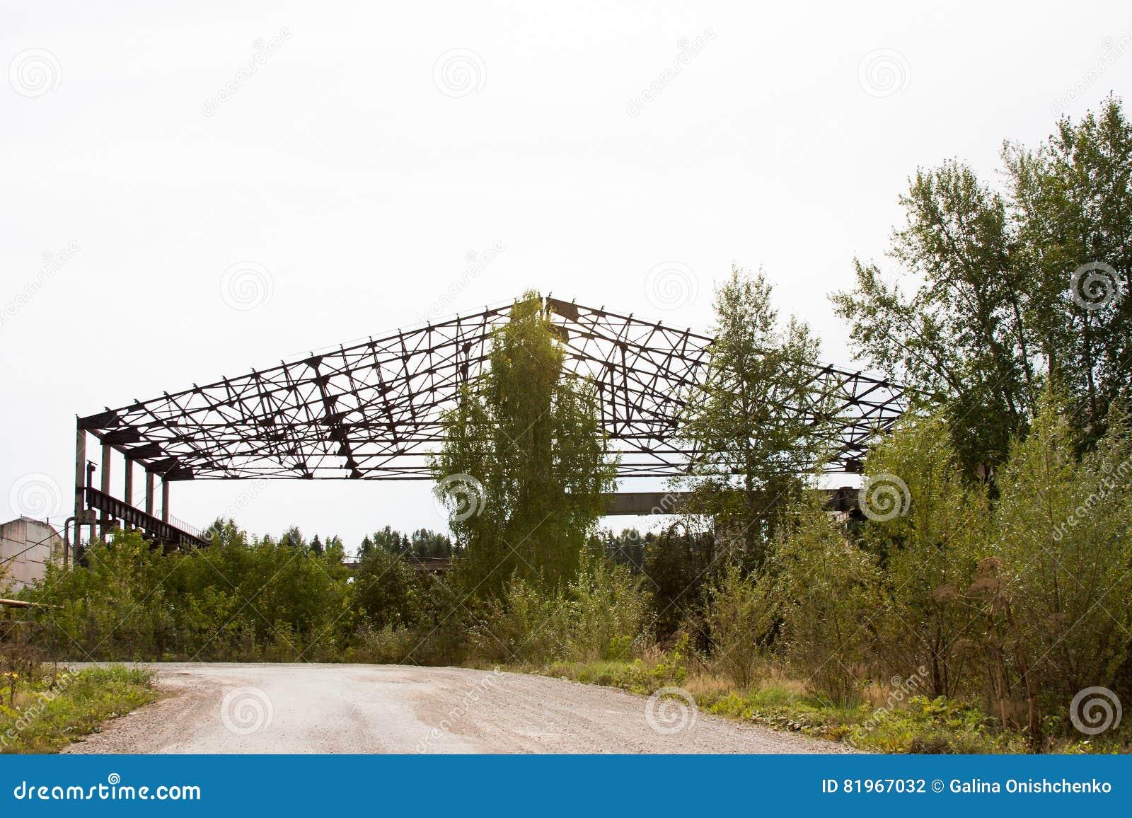 Metalu kościec duży hangar, Rosja